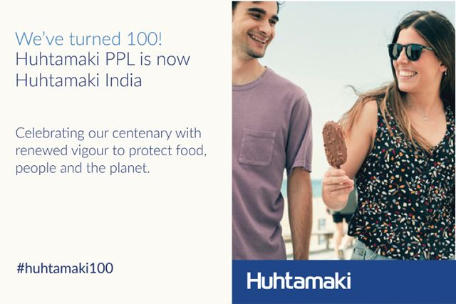 Huhtamaki turns 100 years, marks milestone with rebranded presence in India.
