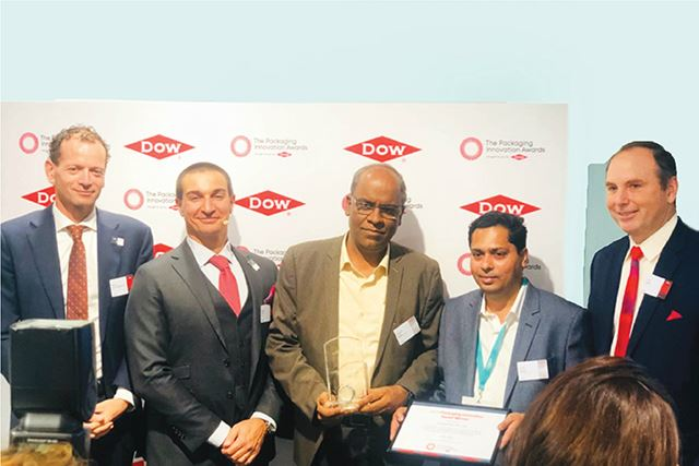 Dow awards double recognition to Huhtamaki PPL