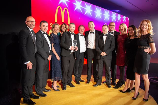 Huhtamaki is McDonald's Supplier of the Year in the UK and Ireland