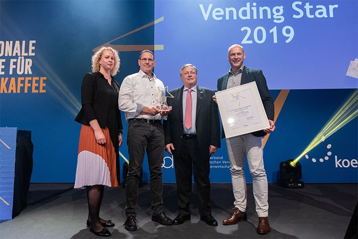 Future Smart sustainable paper cup wins Vending Star 2019 award
