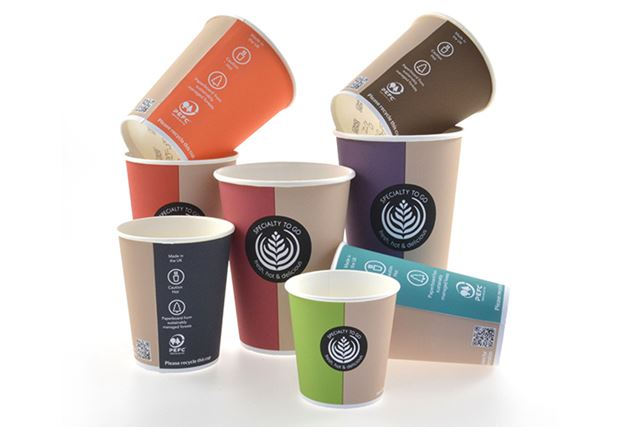 New print with a QR code makes cup recycling easier in the UK