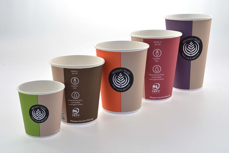 Used paper cups turn into high-quality products